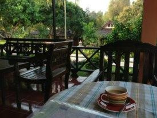 Ban Rai Tin Thai Ngarm Eco Lodge:                   食堂から