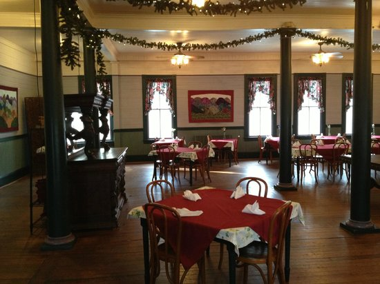 Balsam Mountain Inn & Restaurant:                                     Grand Dining room