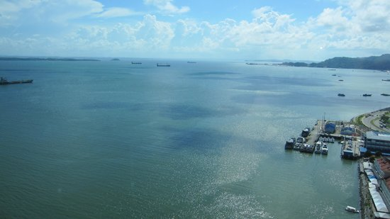 Four Points by Sheraton Sandakan:                   Another seaview from our room