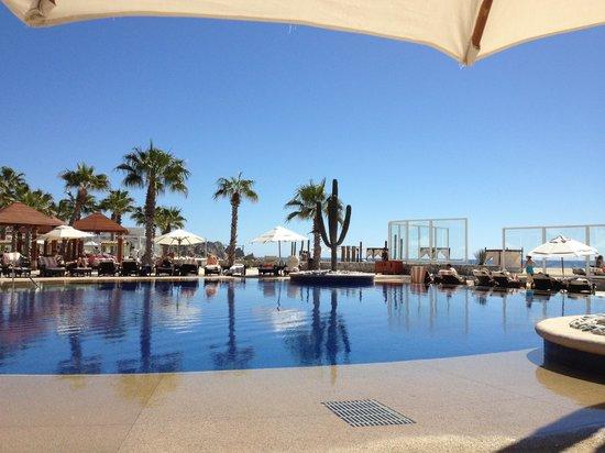 Pueblo Bonito Pacifica Resort & Spa:                                                       The quiet pool