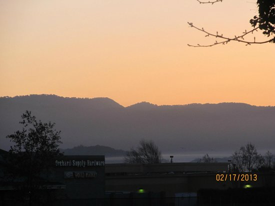 The Meritage Resort and Spa:                                     Sunrise over Napa