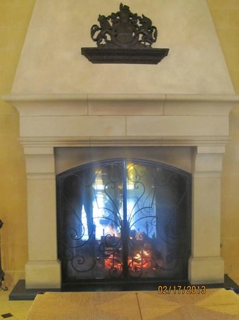 The Meritage Resort and Spa:                                     Fire at the Foyer