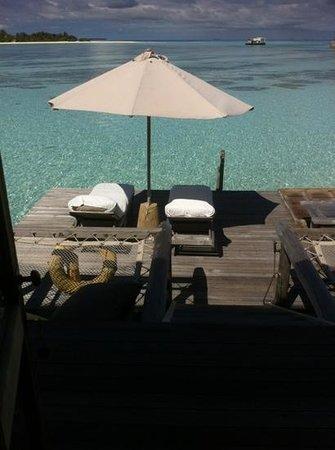 Gili Lankanfushi Maldives:                   villa