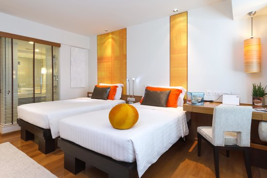 Dusit D2 Chiang Mai: deluxe twin bed