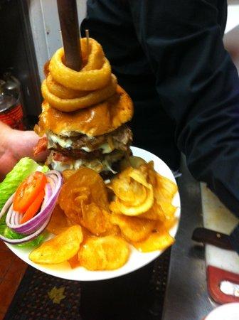 "Perigee Restaurant: ""The Dagwood"""