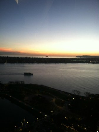Manchester Grand Hyatt San Diego:                   bay sunset