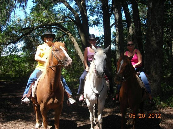 Cactus Jack's Trail Rides:                   Roger, sister-Terry & Myself   05-20-2012