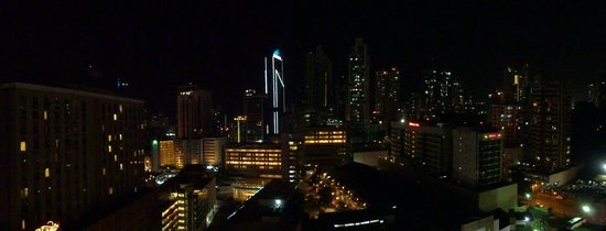 Hilton Garden Inn Panama:                   View from the spa / 16th floor