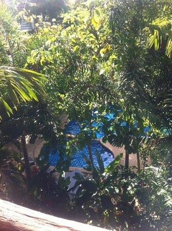 Phu Pha Ao Nang Resort and Spa:                   utsikten från våran balkong