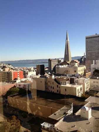 Stanford Court San Francisco:                   View from Concierge Lounge -great view!