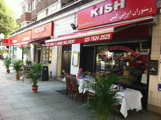 Photo of Middle Eastern Restaurant Kish Restaurant at 7-9 Kilburn High Road, London NW6 5SD, United Kingdom