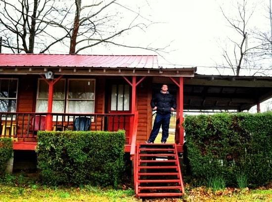 Riverside Resort on Kings River:                   our cabin