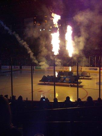 Wolves pregame, Allstate Arena