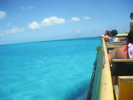 All Ritmo Cancún  Resort & Waterpark:                                     Ferry over to the island
