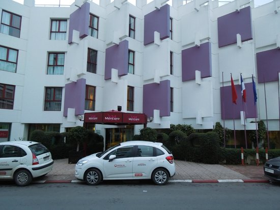 Mercure Rabat Sheherazade:                   Hotel Entrance