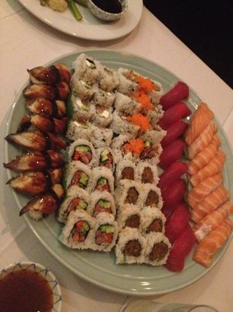 Taka Restaurant:                   Dinner for four.