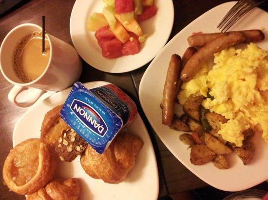 Hotel Valencia - Santana Row :                   Complimentary Breakfast I brought to my room