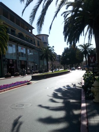 Hotel Valencia - Santana Row :                   A view of Santana Row
