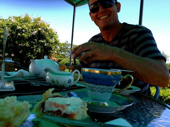 ‪‪Hauraki Rail Trail - Day Rides‬:                   afternoon tea