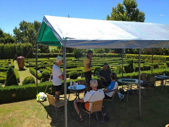 Hauraki Rail Trail - Day Rides:                   respite @ Depot Garden