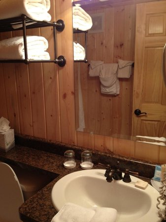 Elk Country Inn:                   bathroom