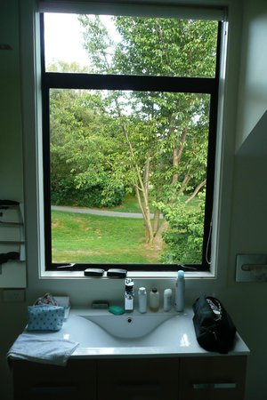 Garden Court Suites & Apartments:                                     The bathroom window