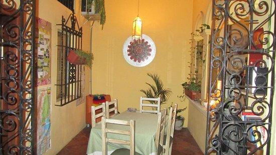 Manso Boutique Guesthouse:                   Una de las salas de estar