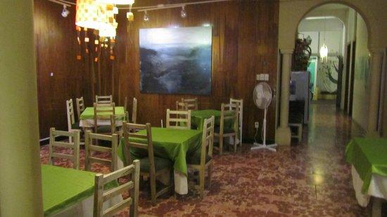 Manso Boutique Guesthouse:                   Aqui es donde se sirve el desayuno