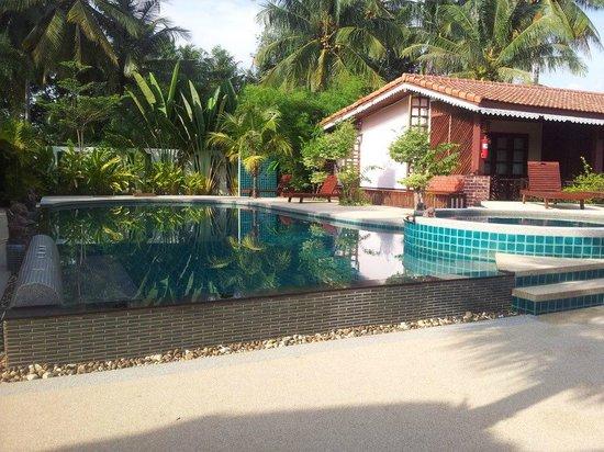 Sangswan Resort:                   pool