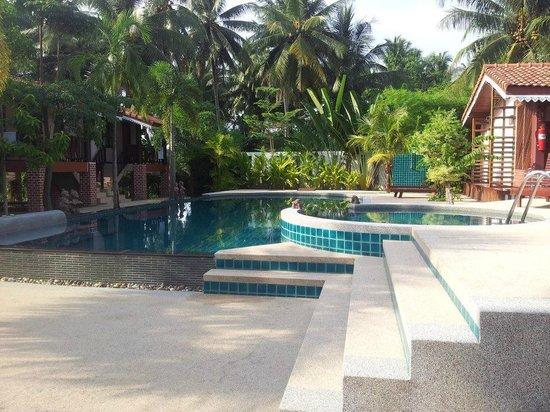 Sangswan Resort:                   pool and a kids pool