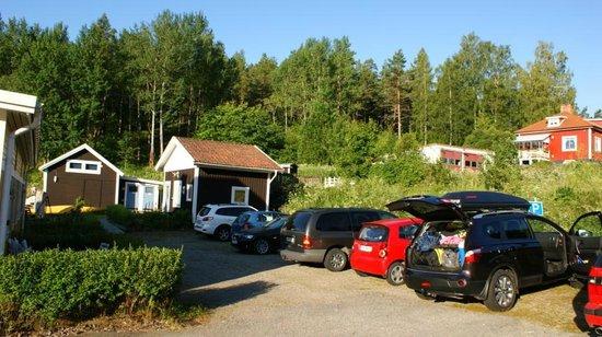 Stavsjö Kolmården Hostel :                   Parking area