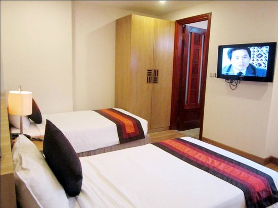Hanoi A1 Hotel: Guest twin room