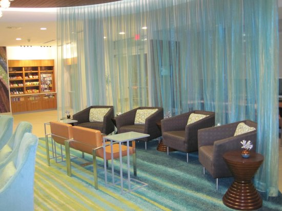 سبرينجهيل سويتس هوستن ذا وودلاندز:                   More lobby/lounge area                 