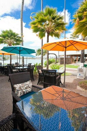 Island Brew Coffeehouse: Outdoor Seating