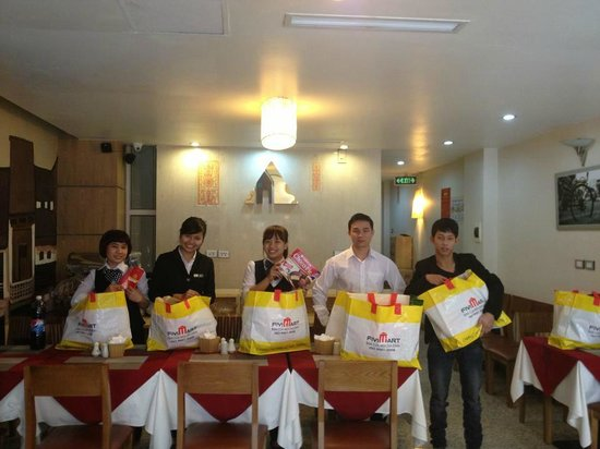 Hanoi A1 Hotel: new year gifts