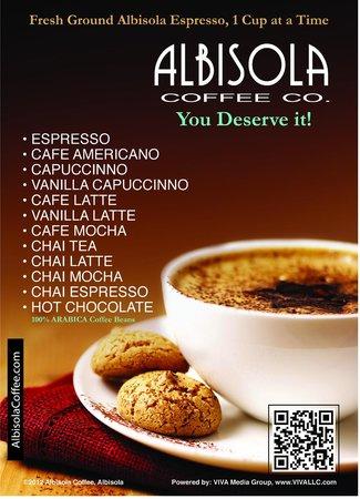 Grapevine Cafe & Coffeehouse : Albisola Coffee
