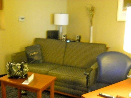Fairfield Inn & Suites by Marriott Montreal Airport:                   small receiving room
