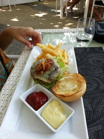The Boathouse Phuket:                   Lunch at Beach Bar