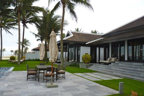 Four Seasons Resort The Nam Hai, Hoi An:                                     three bedrooms Ocean facing Pool villa