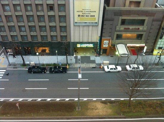 International Hotel Nagoya :                   窗外