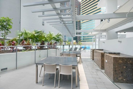 Evolution Apartments: BBQ Area