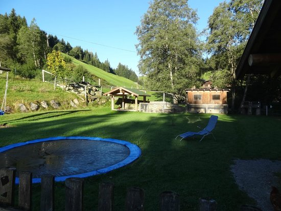 Hinterfischbach:                   Play area with little zoo