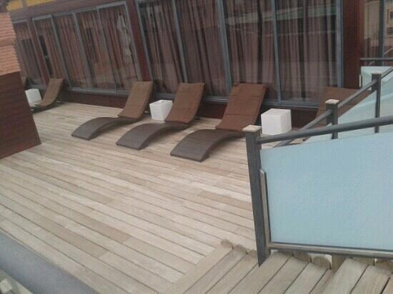 Hotel Almas:                                                       loungers
