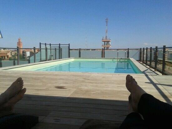 Hotel Almas:                                                       roof top pool