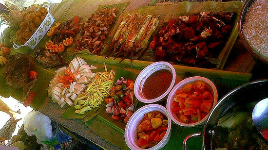 Paradise Beach Resort: true pinoy beach foods
