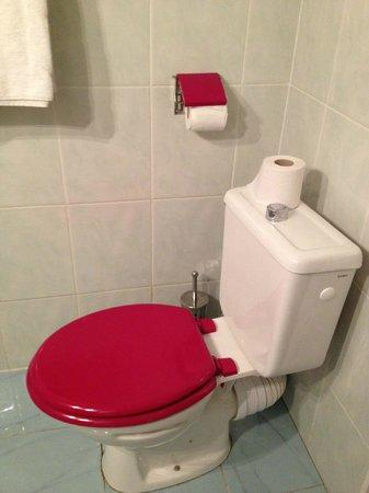 Hotel Altona:                   トイレ
