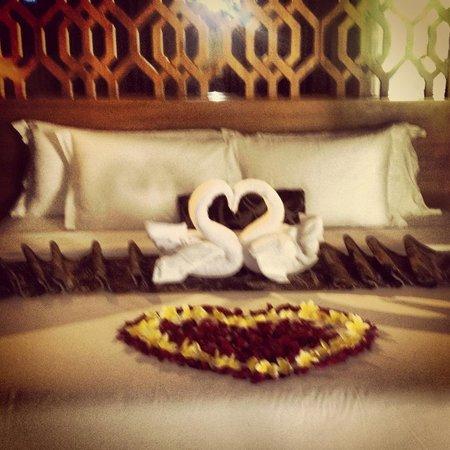 Maca Villas & Spa:                   honeymoon welcome