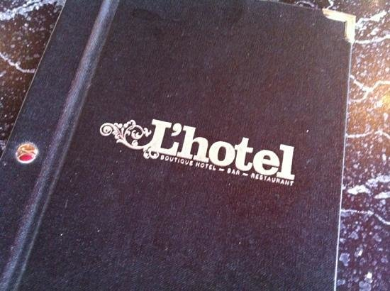 Akaroa Restaurant and Bar:                   L'hotel