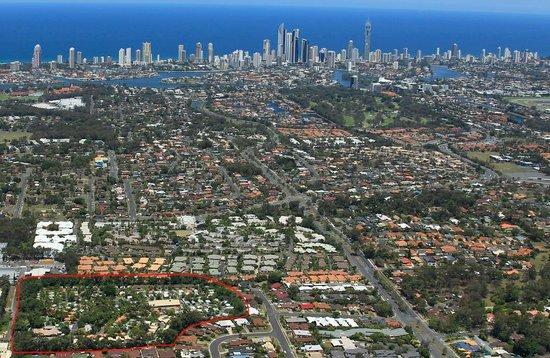 أشمور بالمز هوليداي فيليدج: Ashmore Palms Gold Coast location
