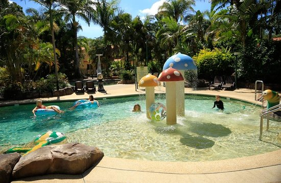 Ashmore Palms Holiday Village: Ashmore Palms mushroom lagoon